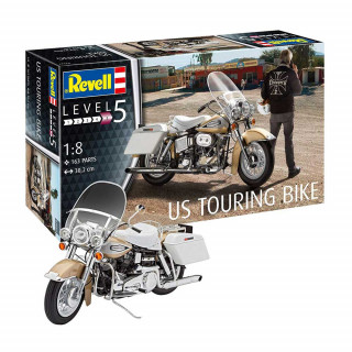 REVELL MAKETA US TOURING BIKE