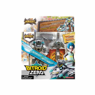 MONKART TRANSFORMERS ROBOT BITROID ZERO
