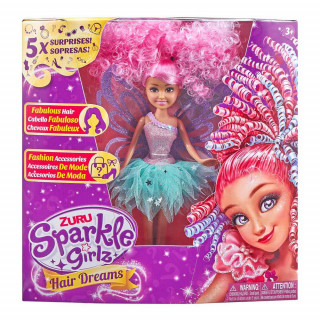 SPARKLE GIRLZ LUTKA HAIR DREAMS