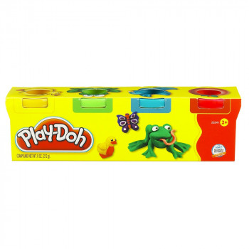 PLAY-DOH MINI PACK 4 KANTICE