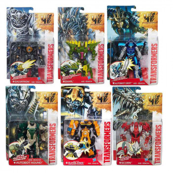 TRANSFORMERS MOVIE 4 DELUXE ATTACKERS