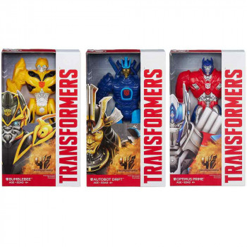TRANSFORMERS MOVIE 4 TITAN HEROES