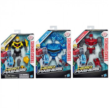 TRANSFORMERS FIGURA HERO MASHERS