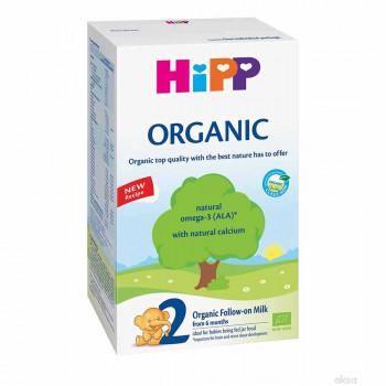 HIPP 2 ORGANIC, PRELAZNO MLEKO ZA ODOJČAD  300G 6M+