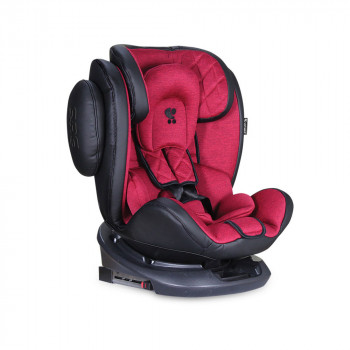 LORELLI AUTOSEDISTE AVIATOR 0-36 KG ISOFIX BLACK / RED