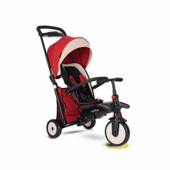 SMART TRIKE TRICIKL FOLDING 500 RECLINER 9M+ RED MELANGE