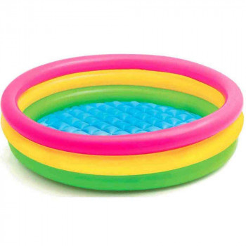 INTEX BAZEN SUNSET GLOW POOL 3-PRSTENA 2+ 1.47M*33CM