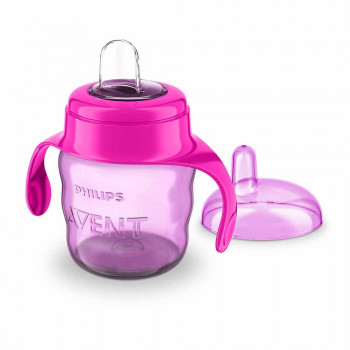 AVENT SPOUT CUP EASY SIP 7OZ/200ML 6M+ PINK PHILIPS