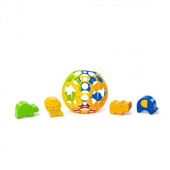 BRIGHT STARTS   IGRACKA OBALL JUNGLE ADVENTURES SHAPE SORTER