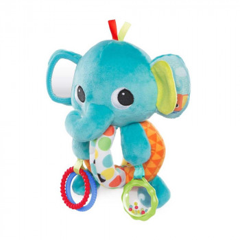 BRIGHT STARS KIDS II IGRACKA EXPLORE & CUDDLE ELEPHANT 10829