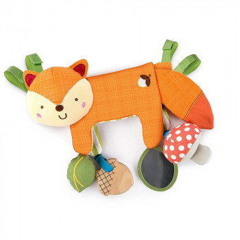BRIGHT STARS KIDS II IGRACKA 2-IN-1 FOXY FOREST TOY BAR 11074