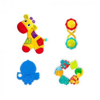 BRIGHT STARTS   TEETHING FUN GIFT SET 52253