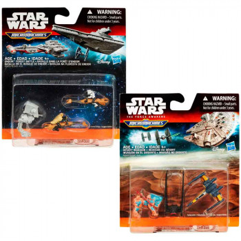 STAR WARS MICRO MASINE BLISTER