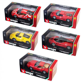 BURAGO 1:24 FERRARI R & P VEHICLES