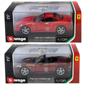 BURAGO 1:32 FERRARI R & P VEHICLES