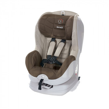 BREVI AUTOSEDISTE CX ISOFIX 9-18KG BROWN/BRAON