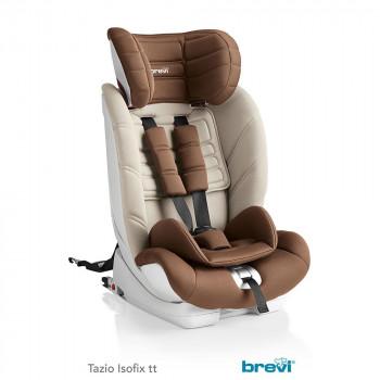 BREVI AUTOSEDISTE TAZIO ISOFIX TT  1/2/3  9-36KG BROWN