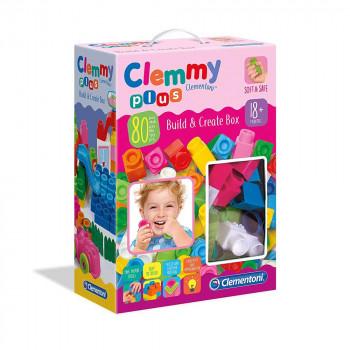 CLEMMY PLUS SET 80 KOCKICA ROZE