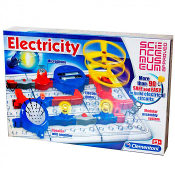 CLEMENTONI SCIENCE SET ELECTRICITY