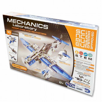 CLEMENTONI SCIENCE SET AVION