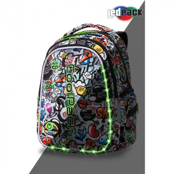 COOLPACK RANAC JOY LED GRAFFITI