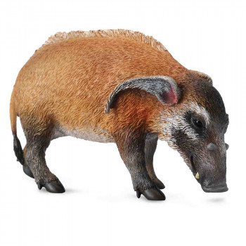 COLLECTA  RED RIVER HOG 8.5cm X 5.2cm