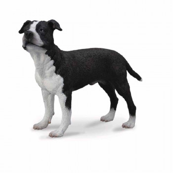 COLLECTA AMERICAN STAFFORDSHIRE TERRIER 9.5cm X 6.8 cm