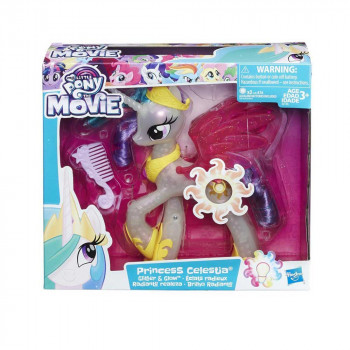 MLP GLIMMER AND GLOW PRINCESS CELESTIA