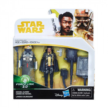 STAR WARS FORCE LINK 2 SET 2 FIGURE ASST