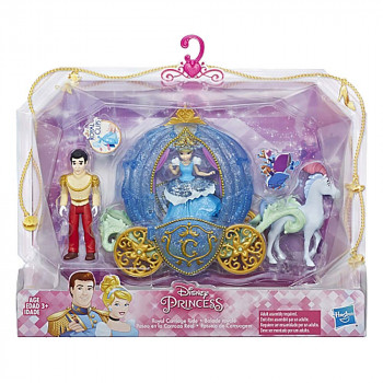 DISNEY PRINCESS SMALL DOLL STORY SET AST