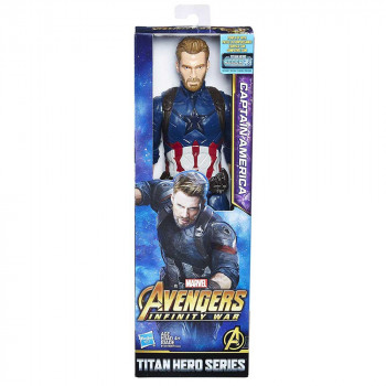 AVENGERS POWER FX 2.0 CAPTAIN AMERICA FIGURA