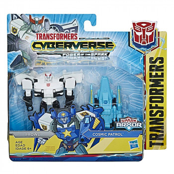 TRANSFORMERS CYBERVERSE SPARK ARMOR BATTLE CLASS AST