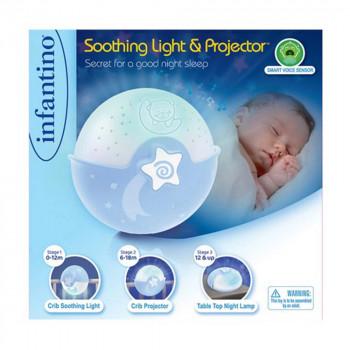 INFANTINO NOCNA LAMPA - PLAVA 004627