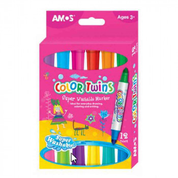 AMOS GLINA COLOR TWINS 12 BOJA