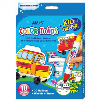 AMOS GLINA COLOR TWINS - KID DRIVER