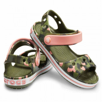 CROCS SANDALE CROCBAND SEASONAL GRAPHIC