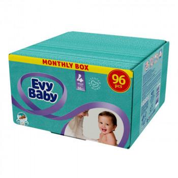 EVYBABY PELENE BOX 4 MAXI 96 KOM NOVO