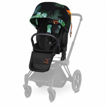 CYBEX SEDALNI DEO ZA PRIAM BIRDS OF PARADISE MULTICOLOR SARENO