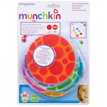 Munchkin termoosetljive neklizajuce tacke za kadu (6 koma