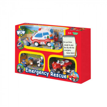 WOW IGRACKA SET 3U1 EMERGENCY RESCUE