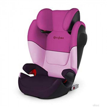 CYBEX A-S (15-36KG) 2/3 SOLUTION M FIX SL-PURPLE