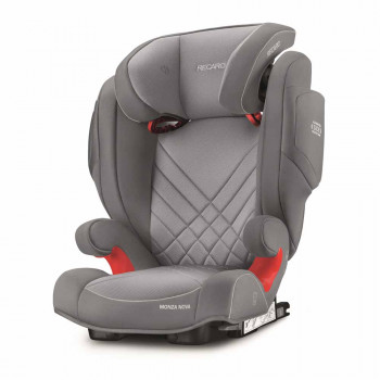 RECARO AUTO SEDISTE (15-36KG)MONZANOVA2 SEAT FIX, ALUM GREY