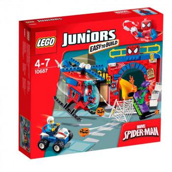 LEGO JUNIORS  SPIDER-MAN? HIDEOUT