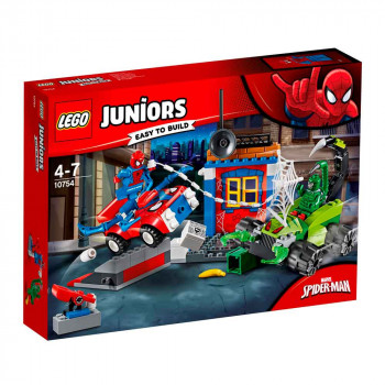 LEGO JUNIORS Spider-Man vs. Scorpion Street Showdown