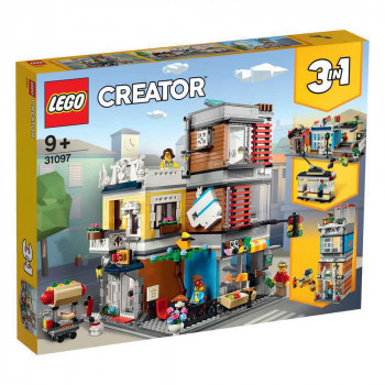 LEGO CREATOR TOWNHOUSE PET SHOP & CAFÉ
