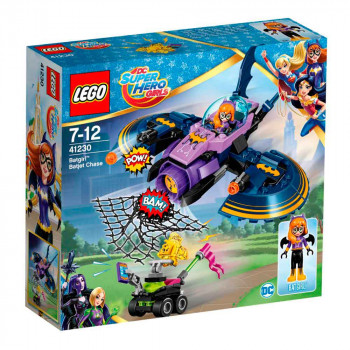 LEGO SUPER HERO GIRLS BATGIRL BATJET CHASE
