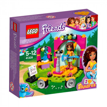 LEGO FRIENDS ANDREAS MUSICAL DUET