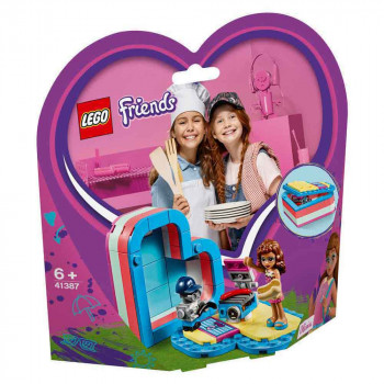 LEGO FRIENDS OLIVIAS SUMMER HEART BOX