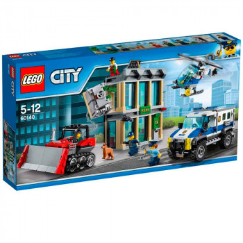 LEGO CITY BULLDOZER BREAK-IN