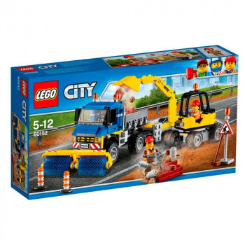 LEGO CITY SWEEPER & EXCAVATOR
